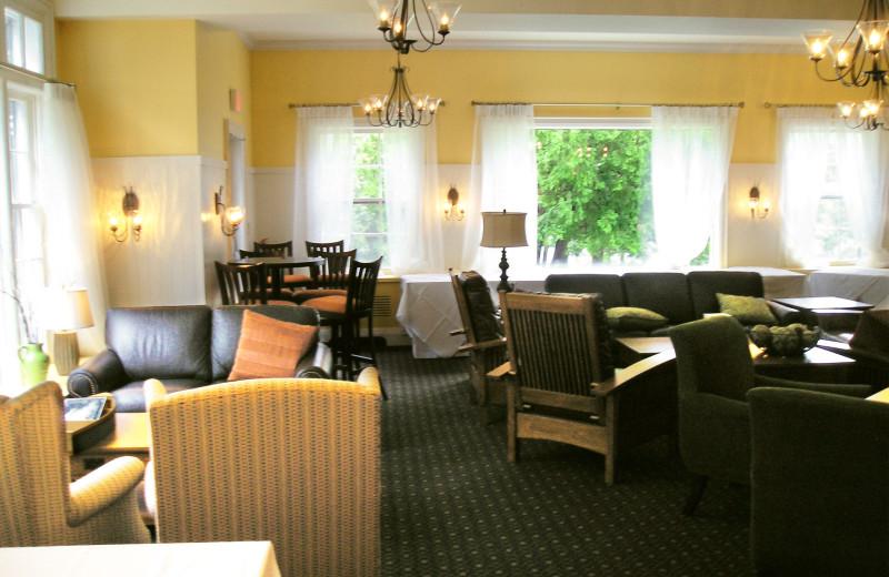 Lounge at Sherwood Inn.