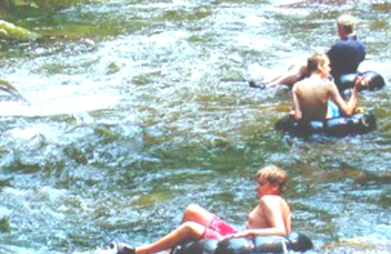 Water Activities at Tuckasiegee River Mountain Lodge