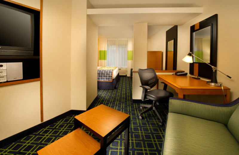King Suite at Fairfield Inn Manassas