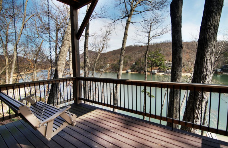 Rental deck at Pinnacle Sotheby's International Realty.