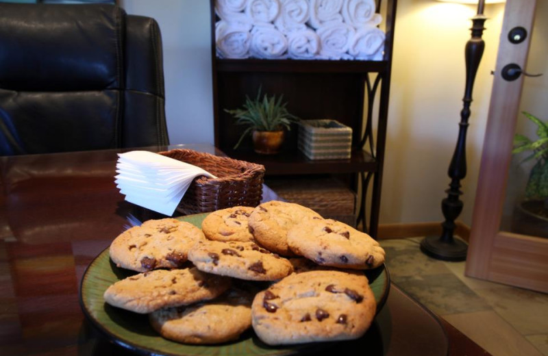Complimentary Cookies in the Lobby at Inn at Seaside