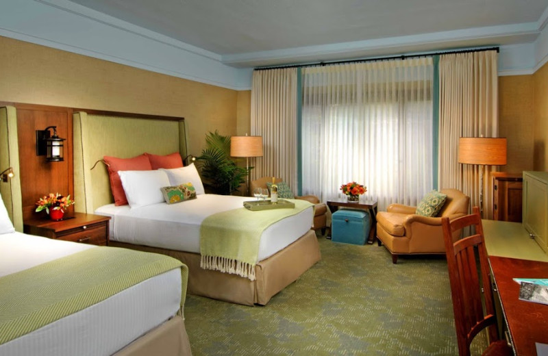 Guest room at The Grove Park Inn Resort & Spa.