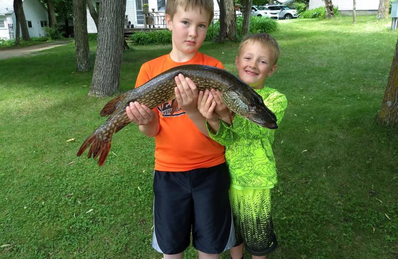 Fishing at Woodlawn Resort.