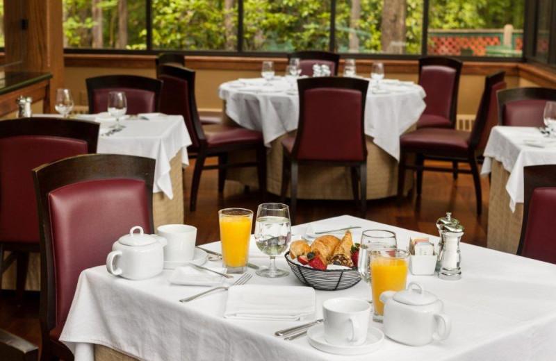Breakfast at Stonehedge Inn and Spa.