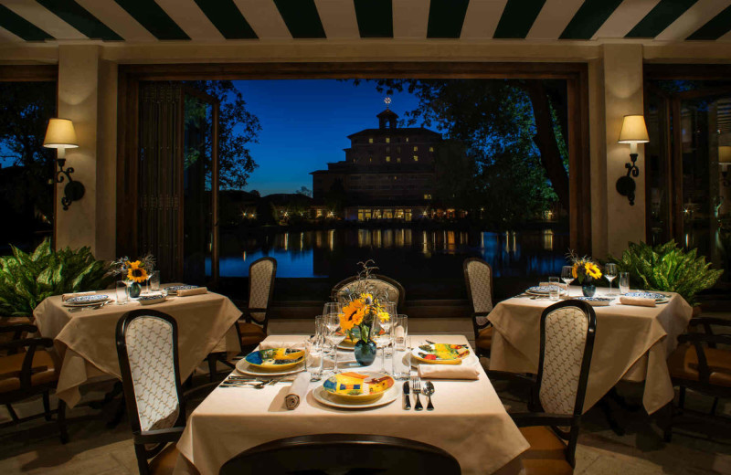 Dining at The Broadmoor.