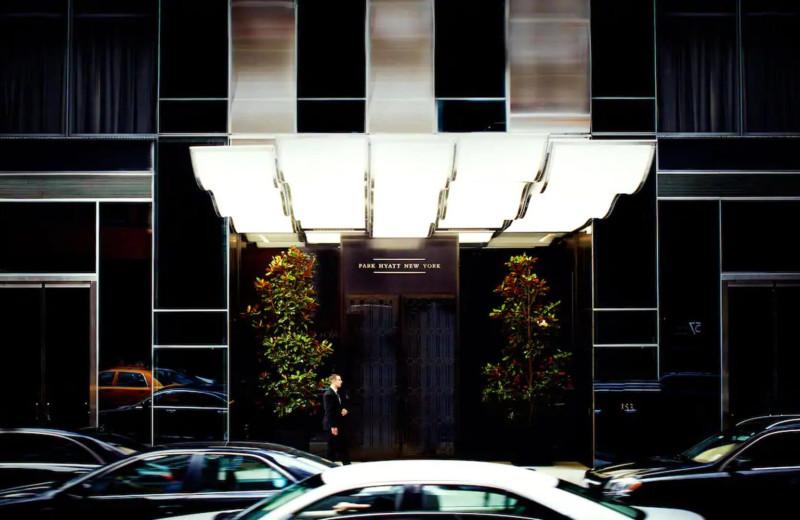 Exterior view of Park Hyatt New York.