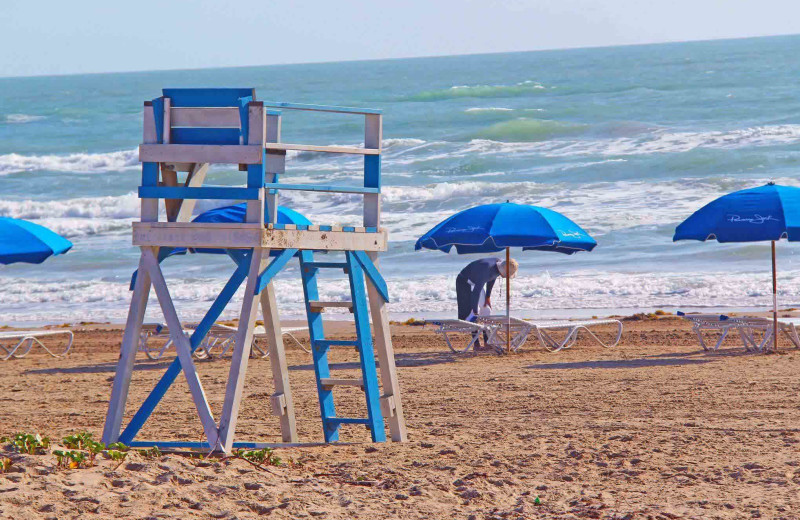 Beach at Padre Island Rentals.