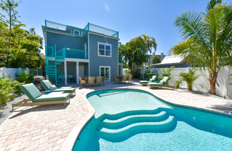 Rental Pool At Siesta Key Luxury Rental Properties.