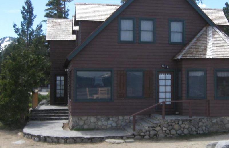 Villa exterior at Meeks Bay Resort