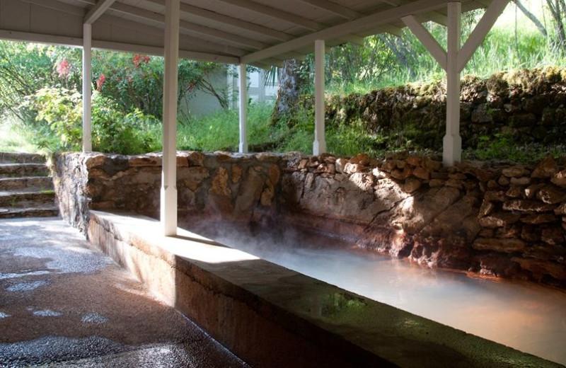 Hot spring at Vichy Hot Springs Resort and Inn.