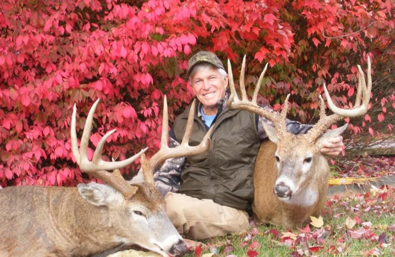 Deer hunting at Harpole's Heartland Lodge.