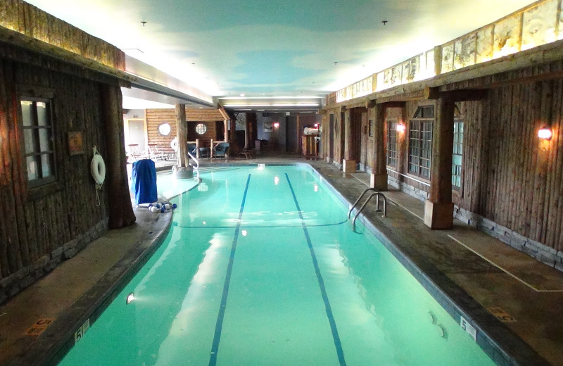 Indoor pool at Mirror Lake Inn Resort & Spa.