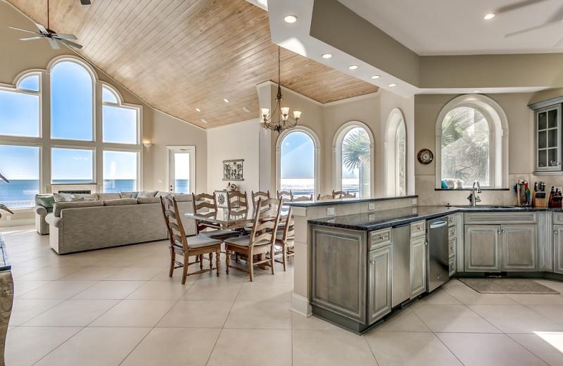 Rental villa at Luxury Beach Rentals, LLC.