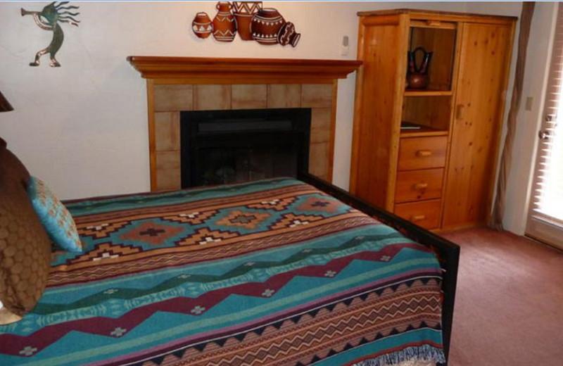 Guest room at Casa Sedona.