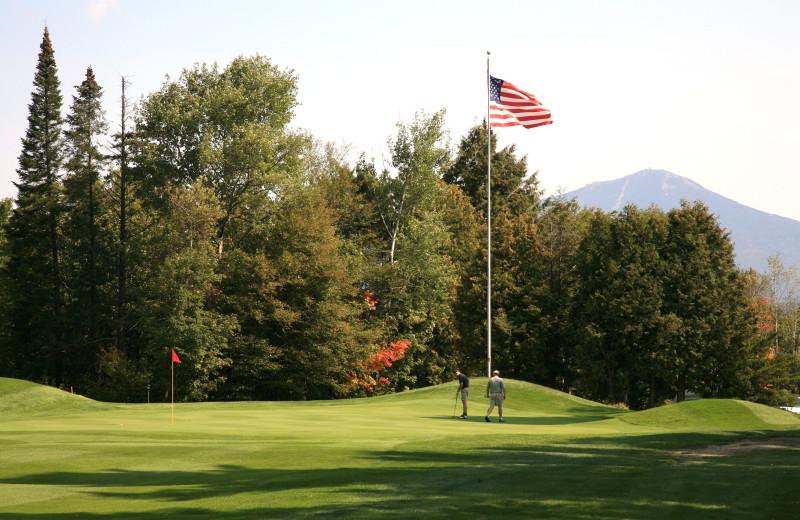 Golf course at Mirror Lake Inn Resort & Spa.