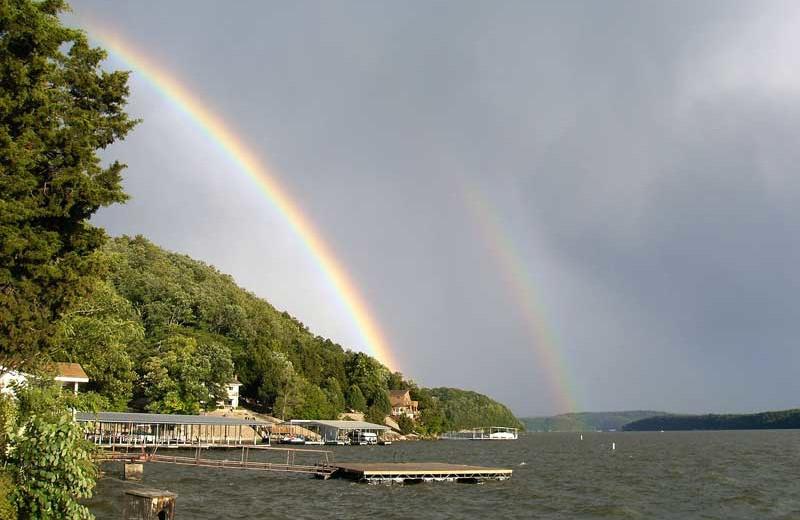 Rainbow at Sunset Inn Resort.