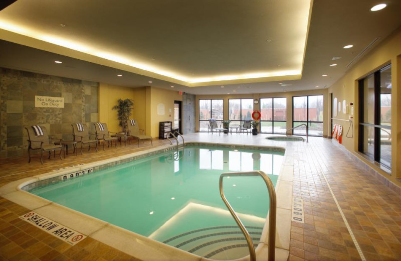 Indoor Pool at Courtyard by Marriott Hamilton