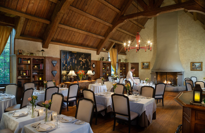 Dining at The French Manor Inn and Spa.