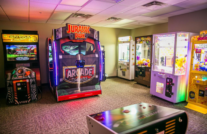 Arcade at Thumper Pond Golf Course & Resort.