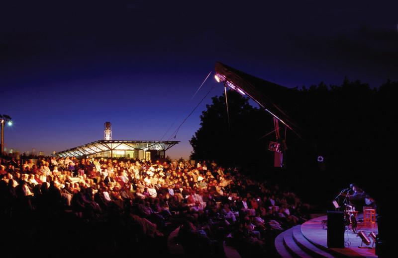 Music concert near Vine Ridge Resort.