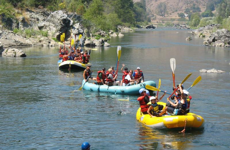 Rafting at Redwood Coast Vacation Rentals