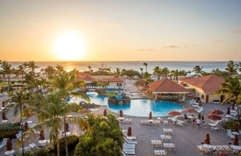 Exterior view of La Cabana All Suite Beach Resort & Casino.
