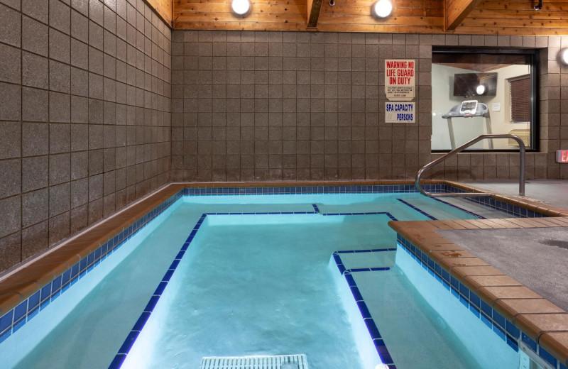 Hot tub at AmericInn by Wyndham - Fergus Falls.