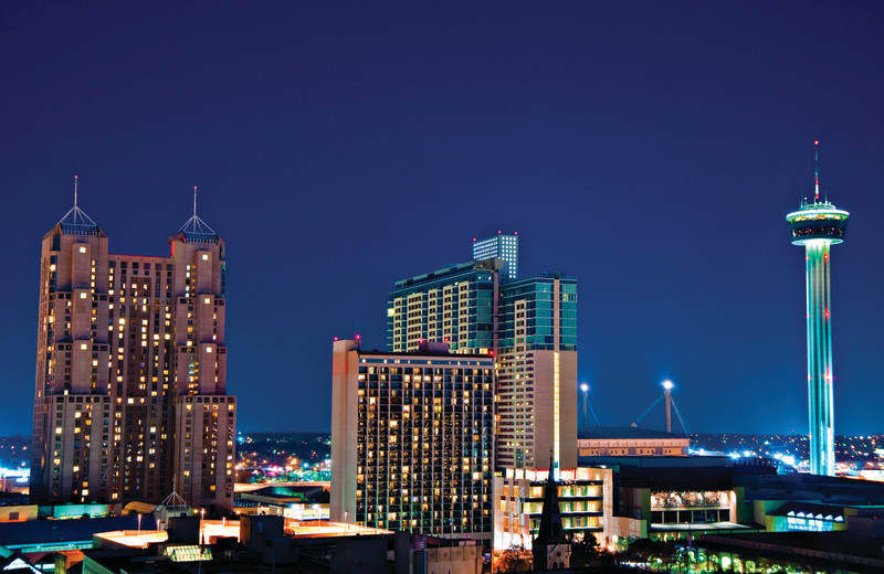 City near Best Western Plus Sunset Suites Riverwalk.
