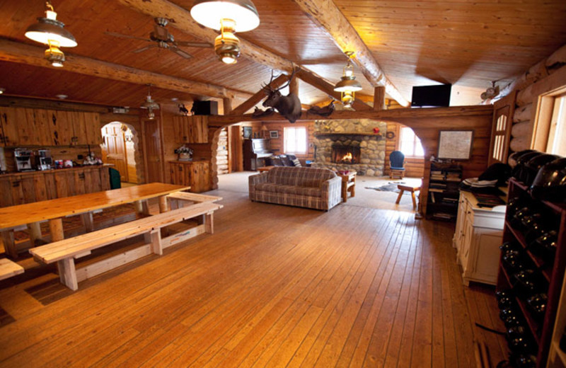 Lodge Interior at Aspen Canyon Ranch
