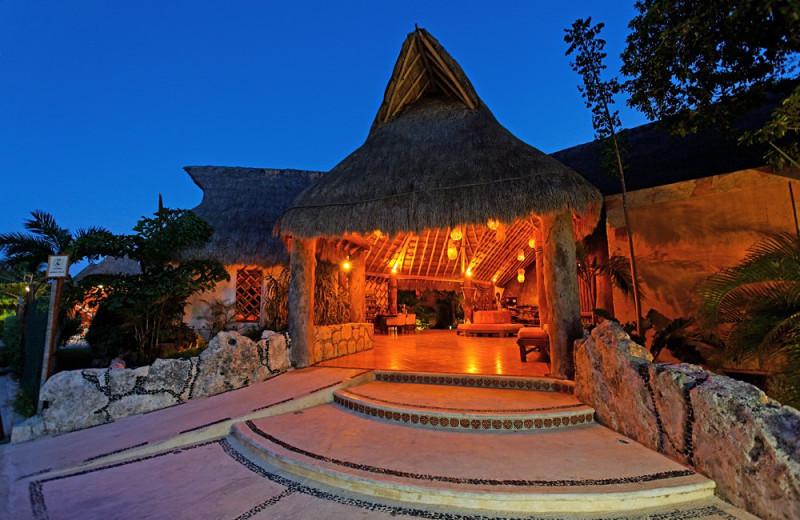 Exterior view of Mahekal Beach Resort.