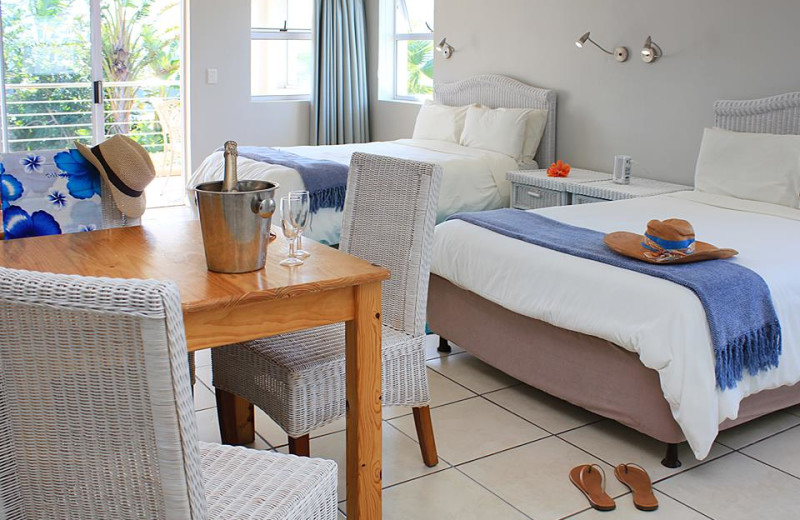 Guest room at Cape St. Francis Resort.