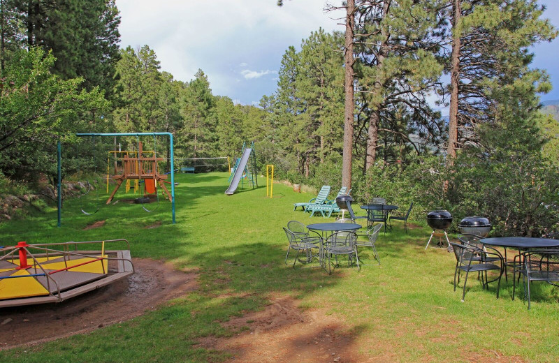 Playground at Pine River Lodge.