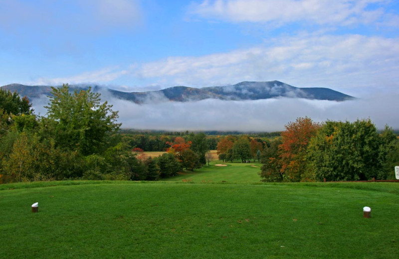 Golf course near North Conway Lodging.