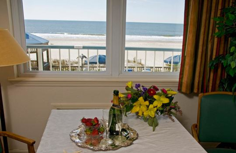 Ocean view at Ocean Isle Inn.