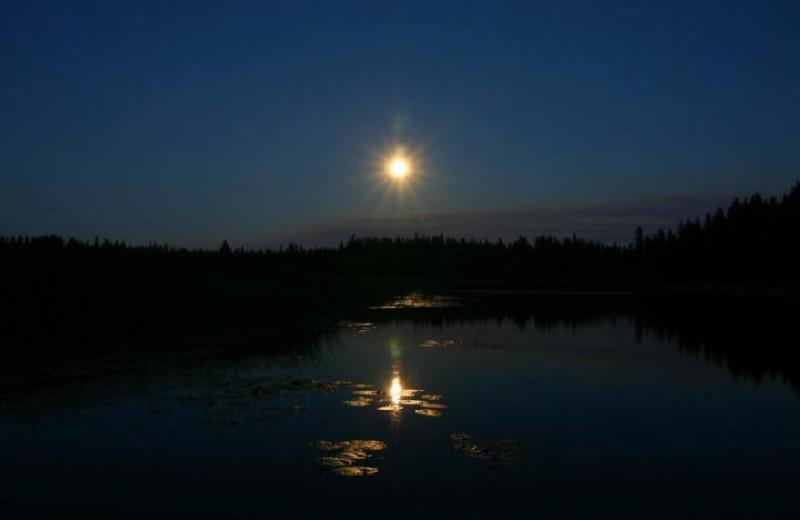 Evening Lake View at Siwash Lake Ranch