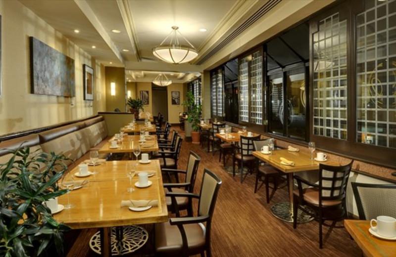 Dining at the Sheraton Hamilton Hotel