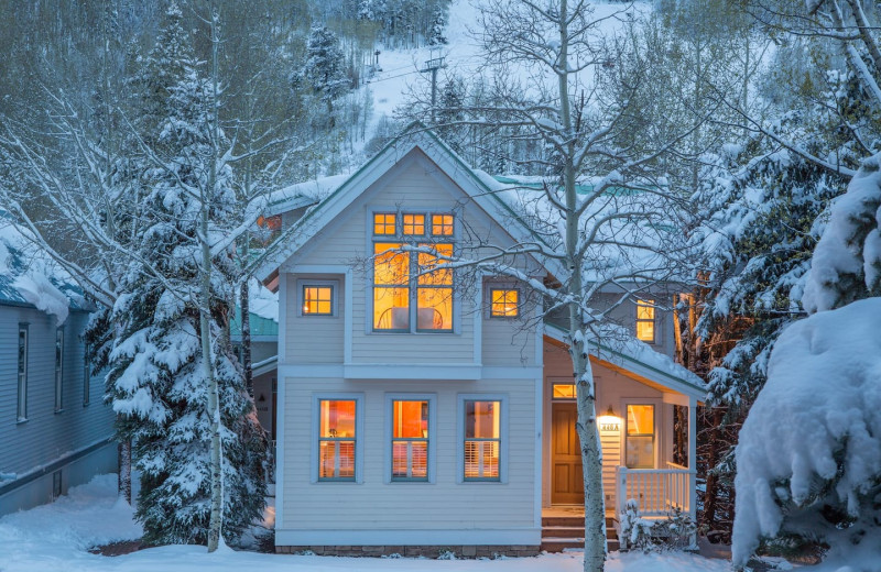Rental exterior at Welcome to Telluride Vacation Rentals.