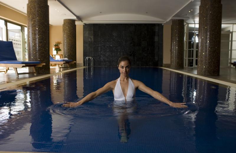 Indoor pool at Amora Hotel Jamison Sydney.