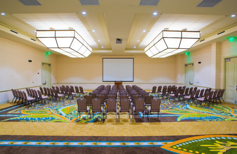 Conference room at The Palms of Destin Resort & Conference Center.