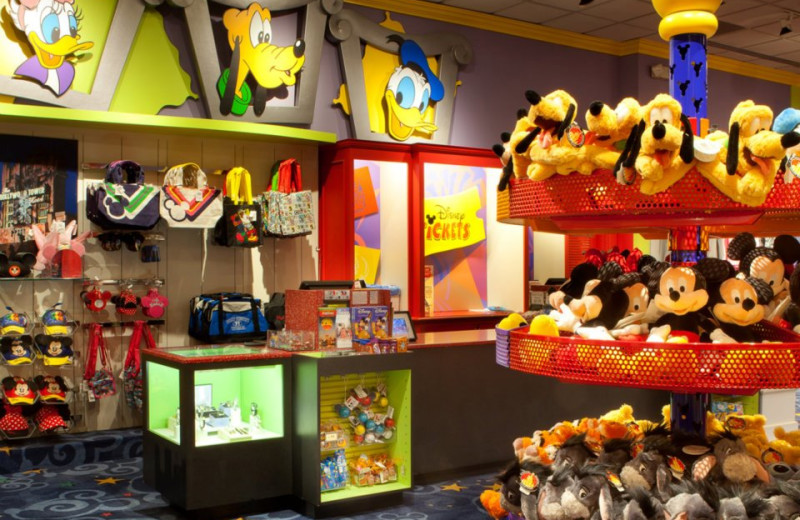 Disney store at Wyndham Lake Buena Vista Resort.