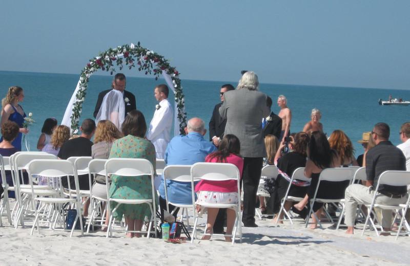 Wedding at Shoreline Island Resort.