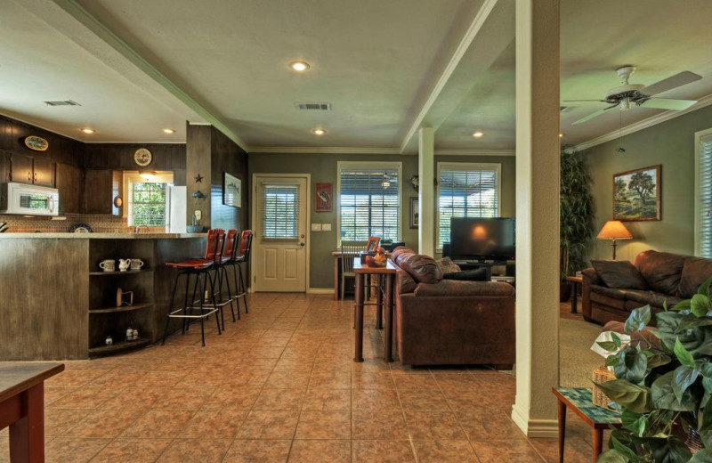 Rental interior at Eastbank River Respite.