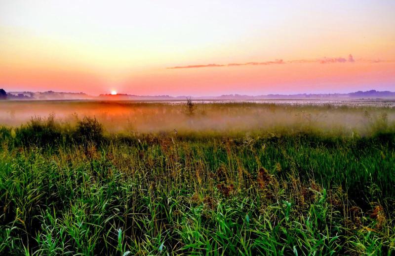 Sunset near America's Best Value Inn - Fergus Falls.