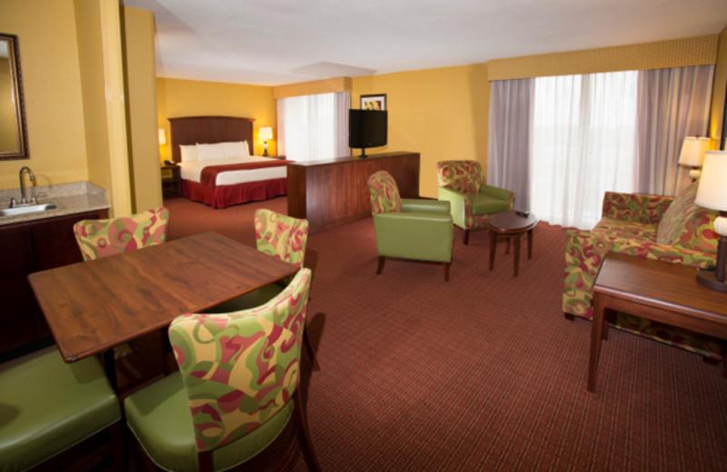 Suite interior at Rosen Inn.