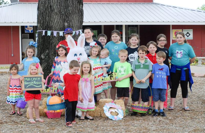 Easter at Mill Creek Ranch Resort.