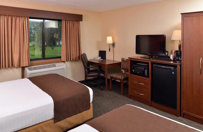 Guest room at AmericInn by Wyndham - Fergus Falls.