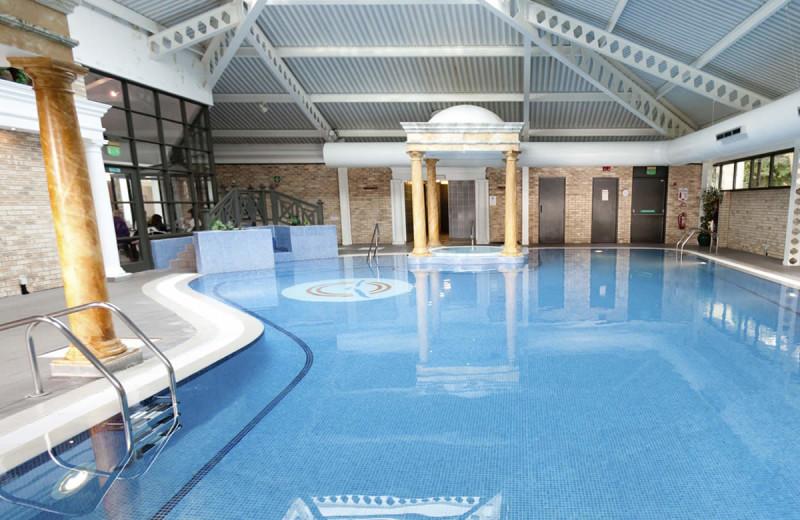 Indoor pool at Keavil House Hotel.