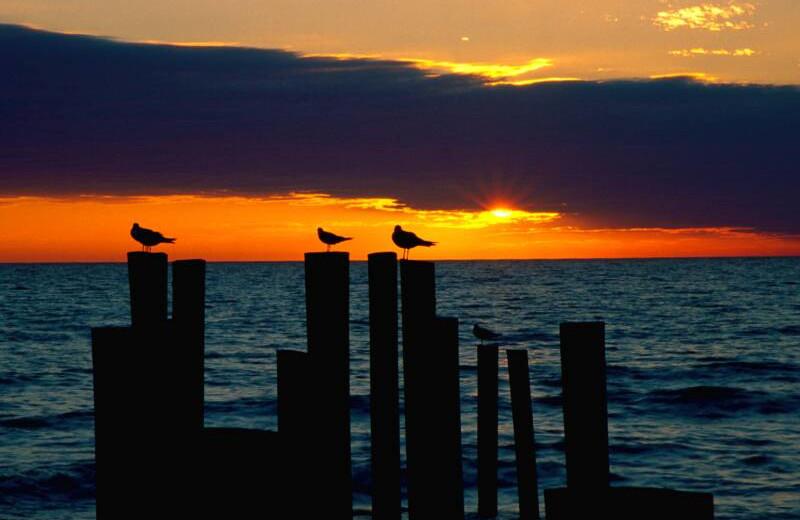 Sunset at Sunsational Beach Rentals. LLC.