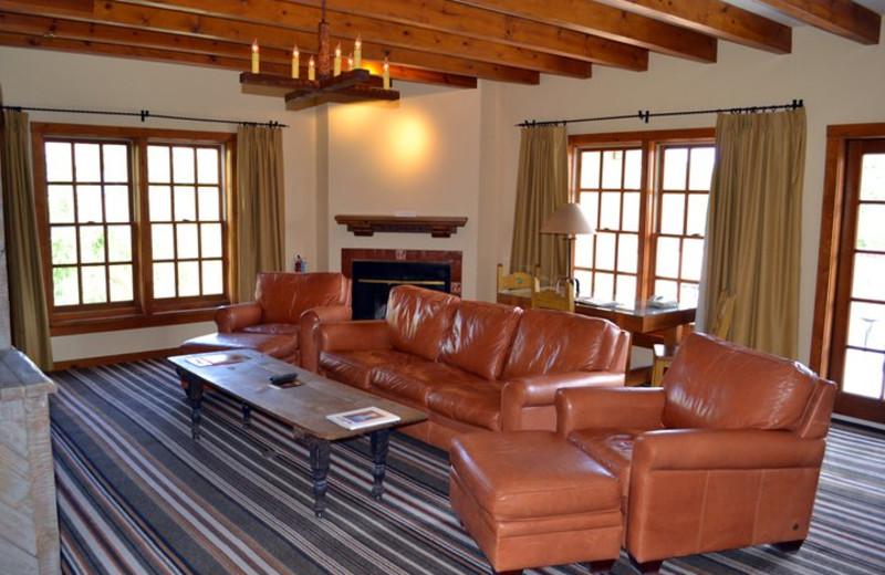 Suite living rooms at Hotel Chimayo de Santa Fe.