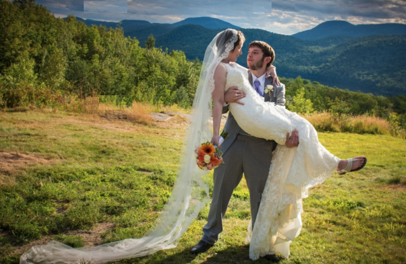 Married Couple at Garnett Hill Lodge
